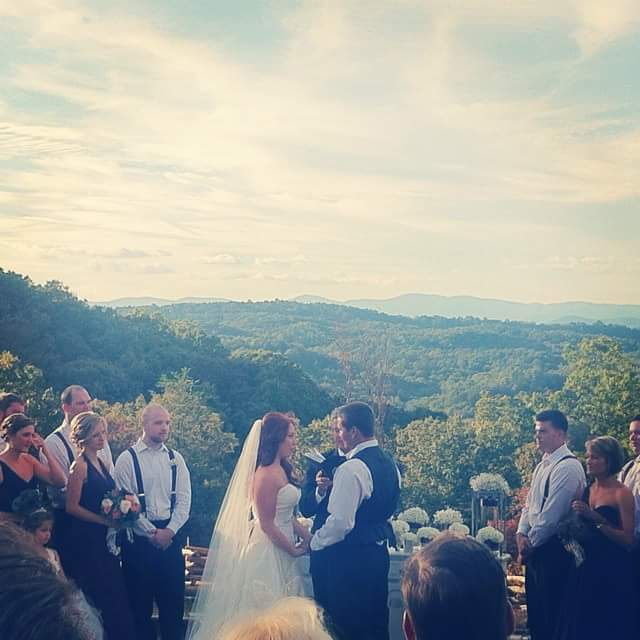 Blue Mountain Vineyards and Events First Wedding